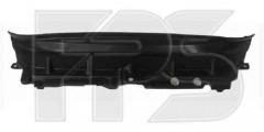 Накладка над радиатором пластиковая для Ford Fiesta '09-13 (верхний дефлектор) (FPS)