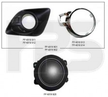 Решетка бампера Mitsubishi ASX '10-13, левая/правая (FPS)