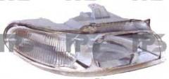 Фара передняя для Daewoo Nubira '97-99 левая (DEPO) электрич. 222-1105L-LD-EM