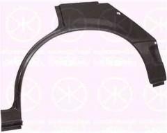 Ремонтная часть заднего крыла для Opel Ascona -88 седан, арка, цинк, правая (KLOKKERHOLM)
