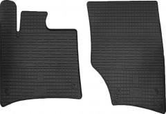 Коврики в салон передние для Audi Q7 '05-14 резиновые (Stingray)