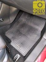 Фото 9 - Коврики в салон для Mazda CX-5 '12-17 резиновые (Stingray)