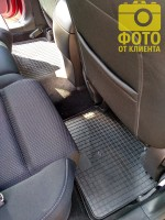 Фото 10 - Коврики в салон для Mazda CX-5 '12-17 резиновые (Stingray)