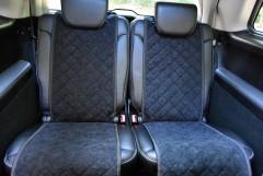 Фото 5 - Накидки на сидения  АVторитет Стандарт, черные (комплект)