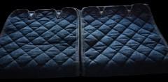 Фото 6 - Накидки на сидения  АVторитет Стандарт, черные (комплект)