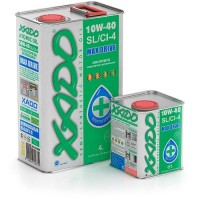 XADO Atomic Oil 10W-40 SL/CI-4, (ж/б 1 л) квадр.