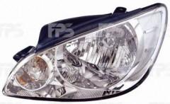 Фара передняя для Hyundai Getz '06-11 левая (DEPO) электрич.