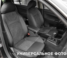 Авточехлы Leather Style для Suzuki SX4 '13- (MW Brothers)