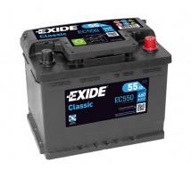 Автомобильный аккумулятор EXIDE CLASSIC 55Ач