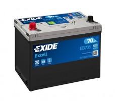 Автомобильный аккумулятор EXIDE EXCELL 70Ач