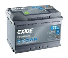 Автомобильный аккумулятор EXIDE PREMIUM 77Ач