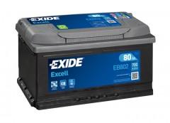 Автомобильный аккумулятор EXIDE EXCELL 80Ач