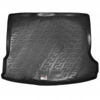 Коврик в багажник для Renault Logan MCV '08-12 (5/7 мест), резино/пластиковый (Lada Locker)