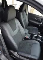 Авточехлы Leather Style для Nissan X-Trail (T32) '14- (MW Brothers)