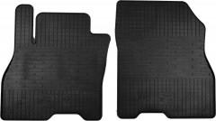 Коврики в салон передние для Nissan Leaf '10-17 резиновые (Stingray)