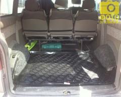 Фото 4 - Коврик в багажник для Volkswagen Transporter T5 '03- (задний), резино/пластиковый (Lada Locker)