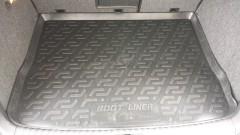 Коврик в багажник для Volkswagen Tiguan '07-16, резиновый (Lada Locker)