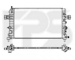 Радиатор охлаждения двигателя для Opel (FPS) FP 52 A305-X