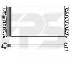 Радиатор охлаждения двигателя для VW (FPS) FP 74 A430-X