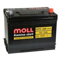 Автомобильный аккумулятор Moll Kamina start 70 Ач