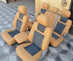 Авточехлы Leather Style для салона Toyota Land Cruiser '98-07 (MW Brothers)