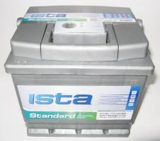 Автомобильный аккумулятор ISTA Standard Euro 50Ач