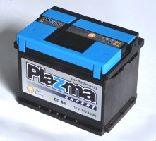 Автомобильный аккумулятор Plazma Expert 60Ач