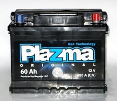 Автомобильный аккумулятор Plazma Original 60Ач правый плюс