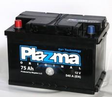 Автомобильный аккумулятор Plazma Original 75Ач