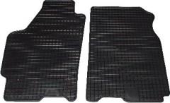 Коврики в салон для Mazda 626 '92-97 (GE) передние, резиновые, черные (Petex)