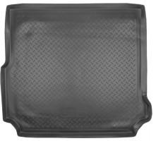 Коврик в багажник для Land Rover Discovery 4 '09-16, (длинный), полиуретановый (NorPlast) черный