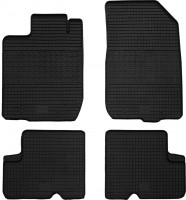 Коврики в салон для Renault Duster '10-18, 4/2WD резиновые (PolyteP)