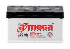Автомобильный аккумулятор A-MEGA Ultra+ 110Ач, правый плюс