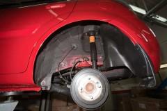 Подкрылок задний левый для Kia Rio '10-11 (Novline)