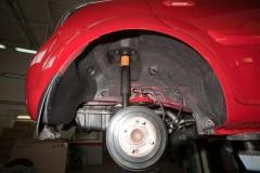 Подкрылок задний правый для Kia Rio '10-11 (Novline)
