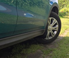 Брызговики передние для Suzuki Vitara '15- (Novline / Element)