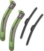 Щетки стеклоочистителя бескаркасные Kioki 350 и 350 мм. (набор)