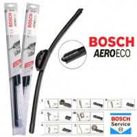 Фото 2 - Щетки стеклоочистителя бескаркасные Bosch AeroEco 700 и 650 мм. (набор)