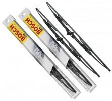 Щетки стеклоочистителя каркасные Bosch Eco 550 и 400 мм. (набор)