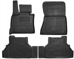Коврики в салон для BMW X5 E70 '07-13 резиновые, черные (AVTO-Gumm)