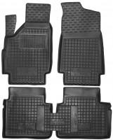 Коврики в салон для Lada (Ваз) Niva 2131 '01-06 Тайга, резиновые, черные (AVTO-Gumm)