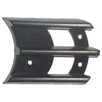 Решетка в бампер для Mitsubishi Pajero Sport '98-04 левая