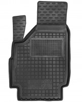 Коврик в салон водительский для Lada (Ваз) Niva 2131 '01-06 Тайга, резиновый, черный (AVTO-Gumm)