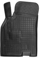 Коврик в салон водительский для Renault Megane '08-16 резиновый, черный (AVTO-Gumm)