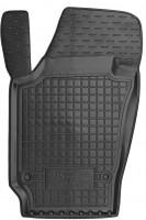 Коврик в салон водительский для Skoda Fabia III '15- резиновый, черный (AVTO-Gumm)