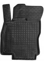 Коврик в салон водительский для Skoda Superb '15- резиновый, черный (AVTO-Gumm)