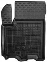 Коврик в салон водительский для Suzuki Vitara '15- резиновый, черный (AVTO-Gumm)