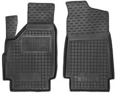 Коврики в салон передние для Lada (Ваз) Niva 2131 '01-06 Тайга, резиновые, черные (AVTO-Gumm)