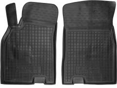 Коврики в салон передние для Renault Megane '08-16 резиновые, черные (AVTO-Gumm)