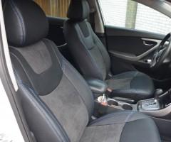 Авточехлы Leather Style для салона Hyundai Elantra MD '11-15 (MW Brothers)